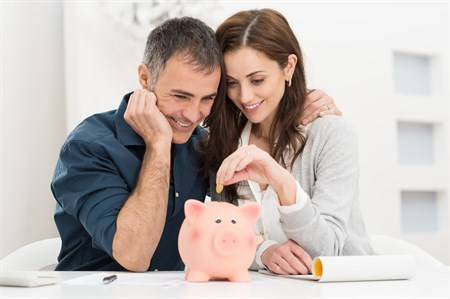 Piggy Bank Couple