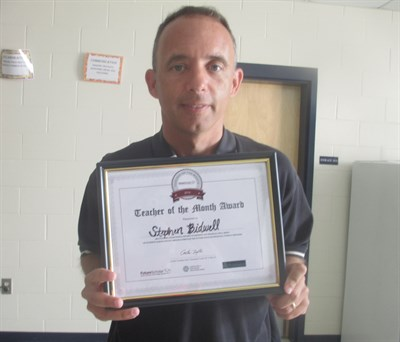 2017 April Teacher Of The Month