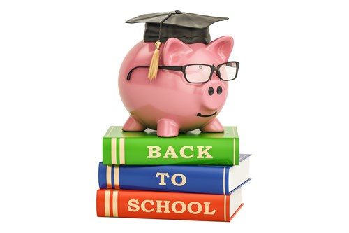 Back To School Piggy Bank